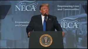 VIDEO: Trump speaks at Electrical Contractors Association Convention [Video]