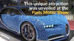 Lifesize Bugatti replica revs up with 1 million LEGO pieces [Video]