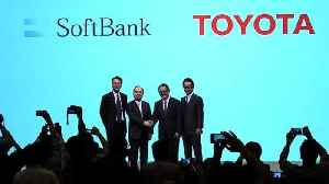 Toyota, SoftBank team up as push to self-drive accelerates [Video]