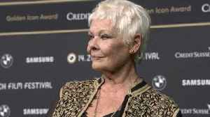 Once told she'd never make it, Judi Dench has last laugh with Golden Icon award [Video]