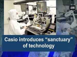 """Casio introduces """"sanctuary"""" of technology [Video]"""