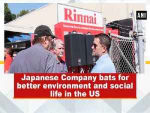 Japanese Company bats for better environment and social life in the US [Video]