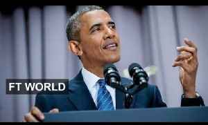 Obama blasts critics of Iran nuclear deal | FT World [Video]