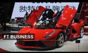 China auto sales hit by antigraft drive | FT Business [Video]
