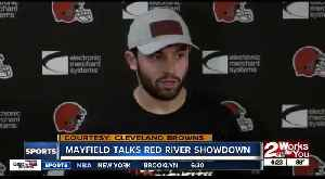 Baker Mayfield weighs in with Red River Showdown prediction [Video]