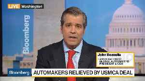 Association of Global Automakers' Bozzella Discusses USMCA, Tariffs [Video]