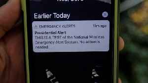 Presidential Test Alert Warns Americans Of More To Come [Video]