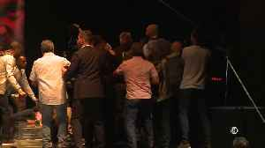 Tyson Fury and Deontay Wilder brawl at press conference ahead of heavyweight title clash [Video]