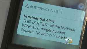 Millions Of Americans Receive First 'Presidential Alert' Text From FEMA [Video]