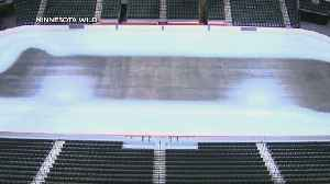 How Do Crews Prepare Ice For NHL Games? [Video]