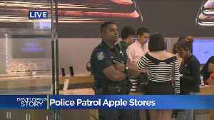Apple Hires Police Amid Rash of Robberies [Video]