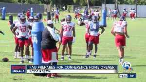 FAU Owls Looking for 1st Conference Win [Video]
