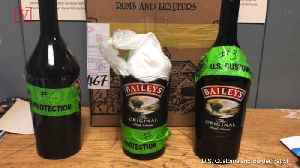 Man Caught Trying to Smuggle $115,000 Worth of Cocaine inside Liquor Bottles at JFK [Video]