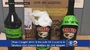 Customs: Man Caught Smuggling Cocaine Inside Bottles Of Baileys At JFK Airport [Video]
