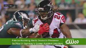 Falcons Freeman Expected To Play Sunday [Video]