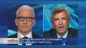Yale Classmate Says Kavanaugh Has 'Not Told The Truth' About His Drinking [Video]
