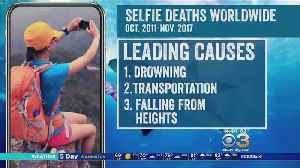 Study: More Than 250 People Died While Taking Selfies [Video]