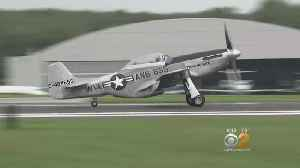 Rare WWII-Era Planes On Display At Westchester County Airport [Video]