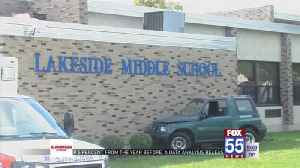 Car crashes into Lakeside Middle School [Video]