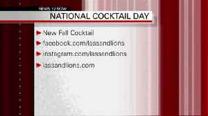 NATIONAL COCKTAIL DAY 10-04-18 [Video]