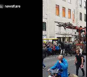 Thousands watch as 'Giants of Liverpool' hit the streets [Video]
