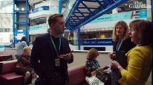 Owen Jones: my search for life at the Tory conference – video [Video]