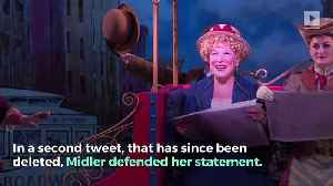 Bette Midler Apologizes for Calling Women 'the N-Word of the World' [Video]