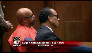 Suge Knight: Former rap mogul sentenced to 28 years in prison [Video]