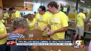 2 million meals coming to Ohio food banks [Video]