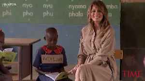 Melania Trump Backs USAID in Africa After President Trump Tried to Defund the Agency [Video]