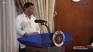 'If It's Cancer, It's Cancer.' Philippine President Rodrigo Duterte Says He's Awaiting Test Results [Video]