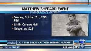 CSU concert pays tribute to Matthew Shepard 20 years after his beating, death [Video]