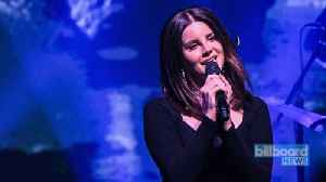 Lana Del Rey Previews New Song 'How to Disappear' | Billboard News [Video]