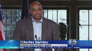 Basketball Legend Charles Barkley Honored By Temple University [Video]