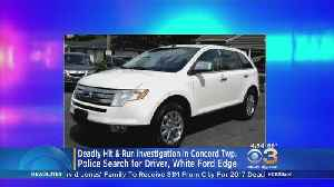 Police Search For Driver Of White Ford Edge For Hit-And-Run In Concord Township [Video]