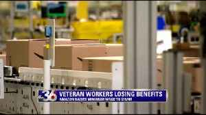 WATCH: Long-time Amazon workers losing benefits after minimum wage hike [Video]