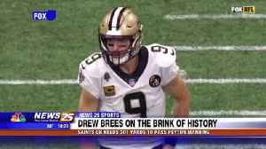 Drew Brees needs 201 yards to pass Peyton Manning [Video]