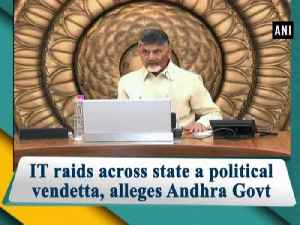 IT raids across state a political vendetta, alleges Andhra Govt [Video]