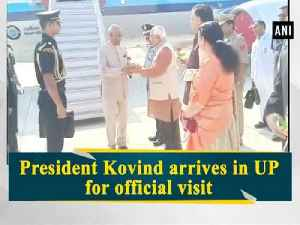 President Kovind arrives in UP for official visit [Video]
