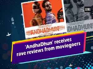 'AndhaDhun' receives rave reviews from moviegoers [Video]