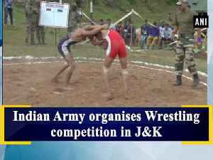 Indian Army organises Wrestling competition in J&K [Video]