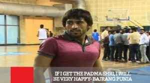 If I Get The Padma Shri, I Will Be Very Happy- Bajrang Punia [Video]