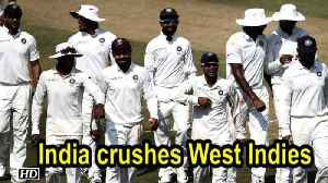 India wins Rajkot Test by an innings and 272 runs [Video]