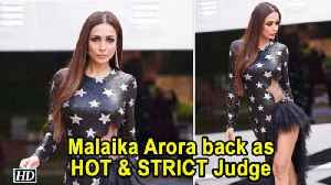 "Malaika Arora back as HOT & STRICT Judge | ""India's Next Top Model 4"" [Video]"