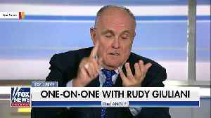 Rudy Giuliani Retweets Soros Is 'Anti-Christ,' 'Freeze His Assets' [Video]