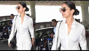 Deepika Padukone gives a Dhoti Twist to her Airport Look, Check out here   Boldsky [Video]