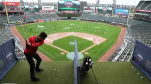 Hitters at this ball park swing from the upper deck [Video]
