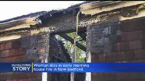 Body Of Woman Found After House Fire In New Bedford [Video]