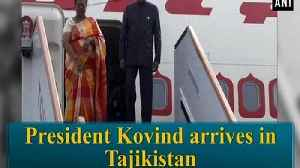President Kovind arrives in Tajikistan [Video]