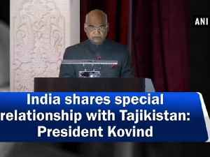 India shares special relationship with Tajikistan: President Kovind [Video]